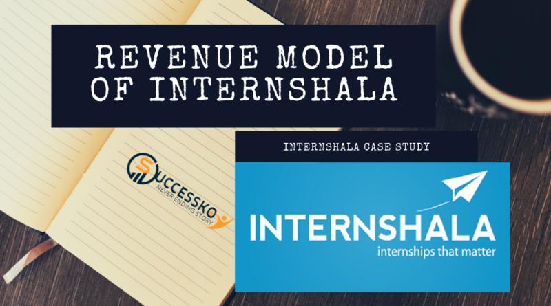 Revenue Model of Internshala