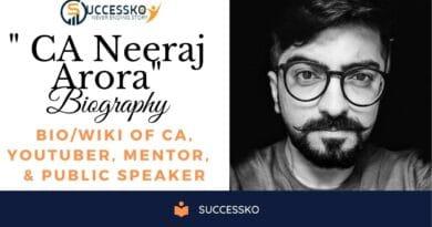 CA Neeraj Arora Biography & Wiki