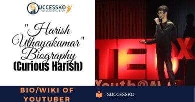 Curious Harish Biography/Wiki