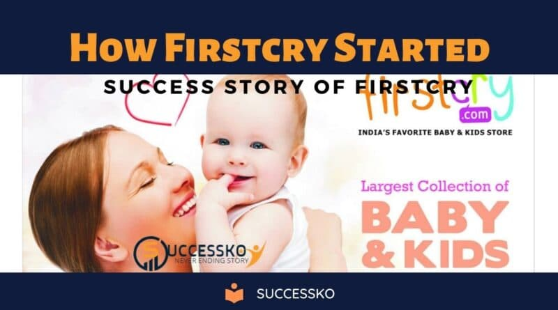 How Firstcry Started
