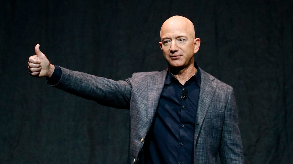 """Jeff Bezos Amazon Founder """"Richest Persons in the World"""""""