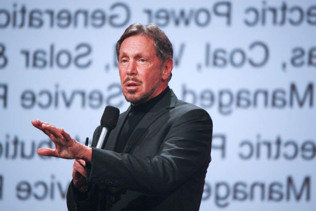 """Larry Elison Oracle Cofounder """"7th Richest Person"""""""