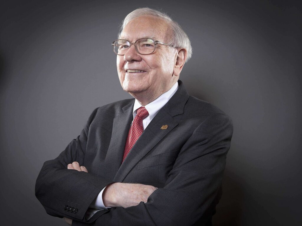 "Warren Buffet ""6th Richest Persons in the World"""