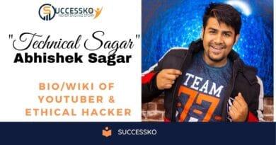 Technical Sagar Biography - Successko